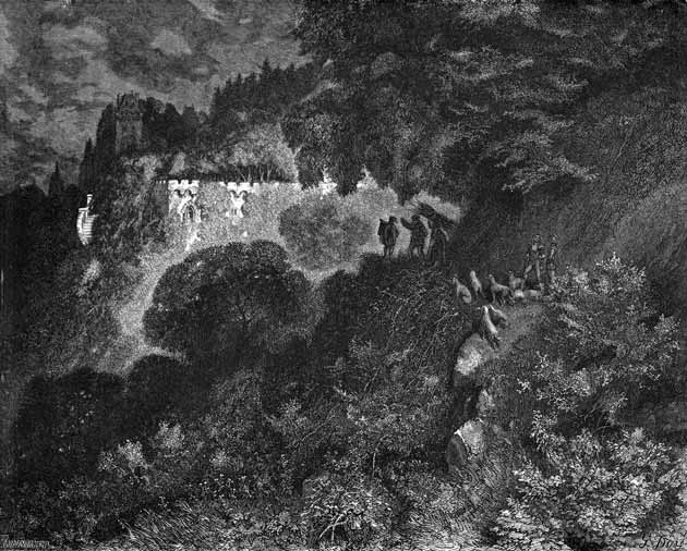 The Sleeping Beauty in the Woods, illustration by Gustave Doré