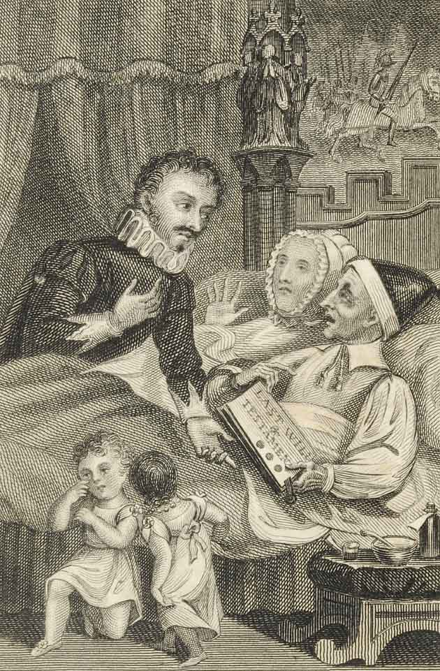 Illustration for The Children in the Wood