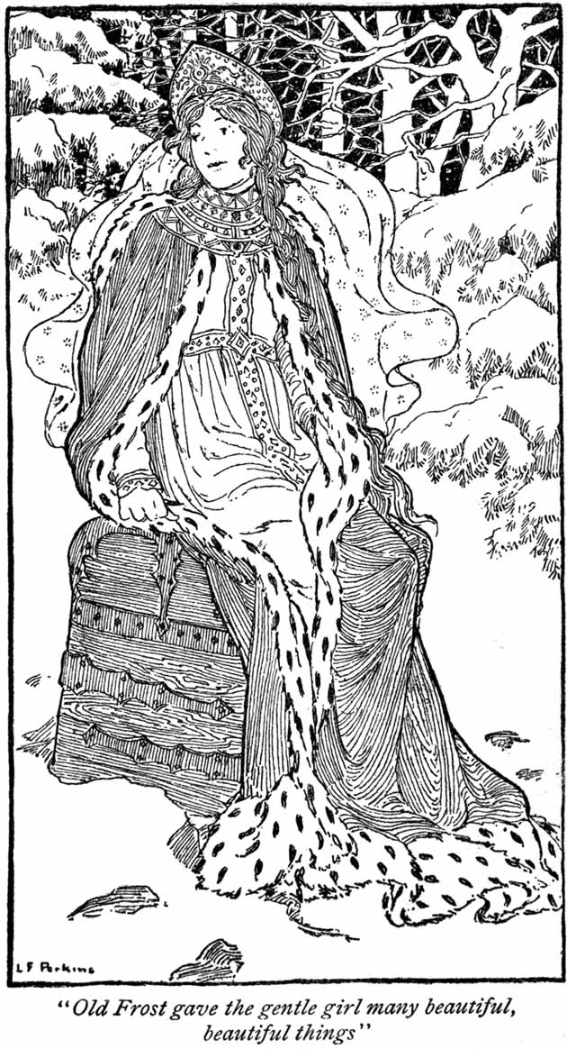 Father Frost, illustration by Lucy Fitch Perkins