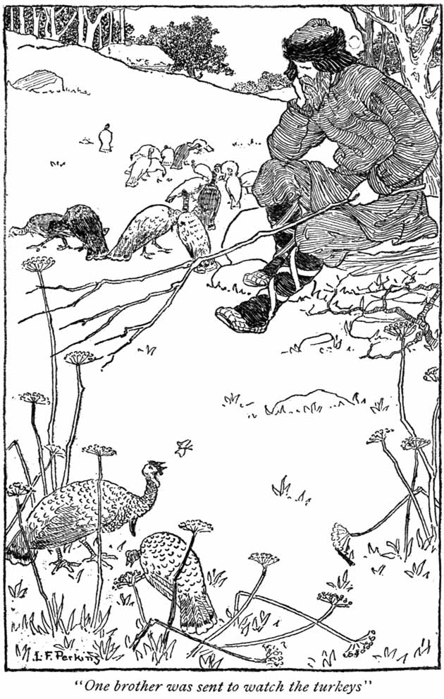 Ivanoushka the Simpleton, illustration by Lucy Fitch Perkins