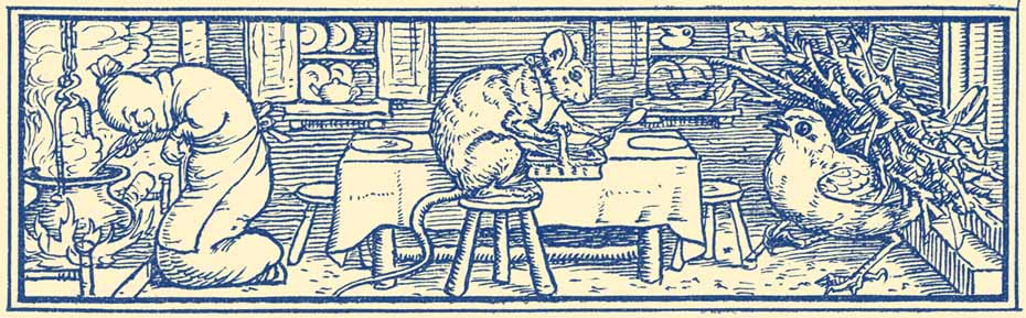 The Mouse, the Bird, and the Sausage, illustration by Walter Crane