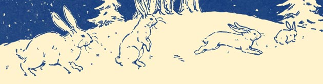 Illustration for Frolic of the Wild Things by Blanche Fisher Wright