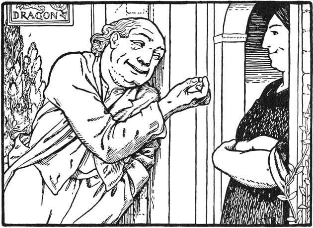 Illustration for All Change by John D. Batten