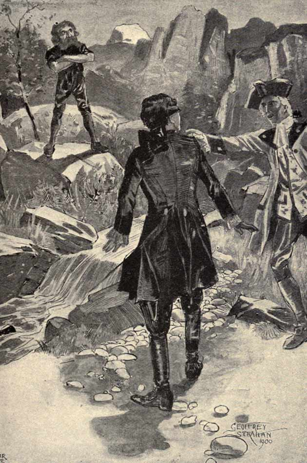 Illustration for The Brown Man of the Moors by Geoffrey Strahan