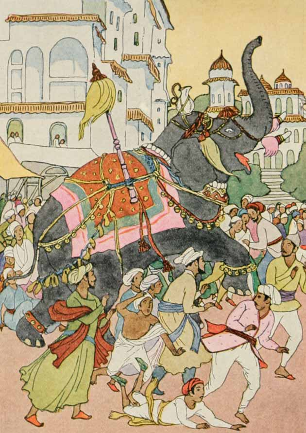 Illustration for Devapala by Maud Hunt Squire
