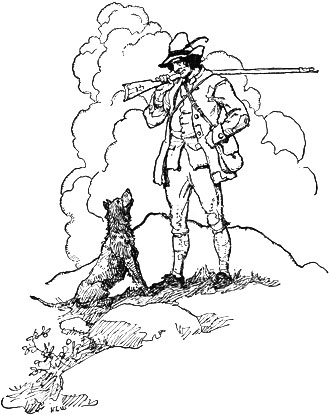 Illustration for Rip Van Winkle by Newell Convers Wyeth