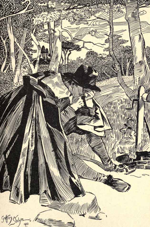 Illustration for The Three Fools by Geoffrey Strahan