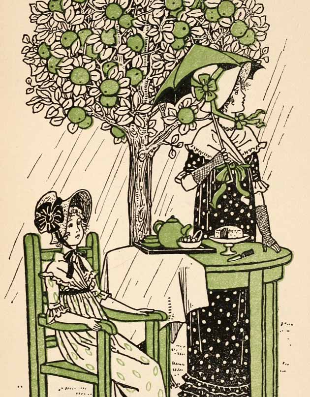 Illustration for The Rainbow by Winifred Green