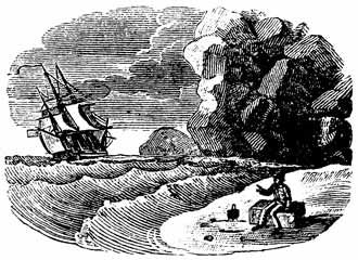 Illustration for The adventures of Robinson Crusoe