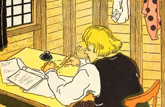 Illustration for The Story of Hans Christian Andersen by William Penhallow Henderson