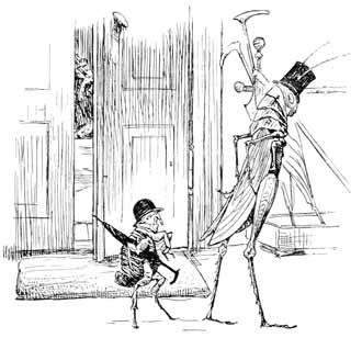 Illustration for The Jumpers by Hans Tegner